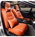 Permeability Genuine Leather  Durable Soft Luxurious Car Seat Covers