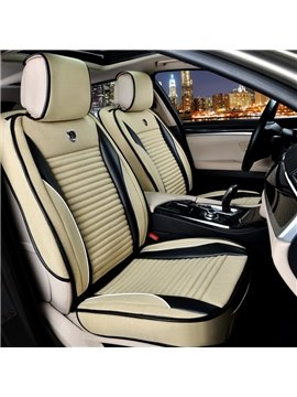 Thick Rubbing Solid Flax And Natural Fibers Cost-Effective Car Seat Covers