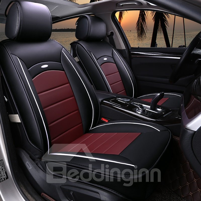 Cozy Genuine Leather Rubbing Cost-Effective Car Seat Covers