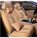 Permeability Beautiful Color Ice Silk And Rayon Luxurious Car Seat Covers