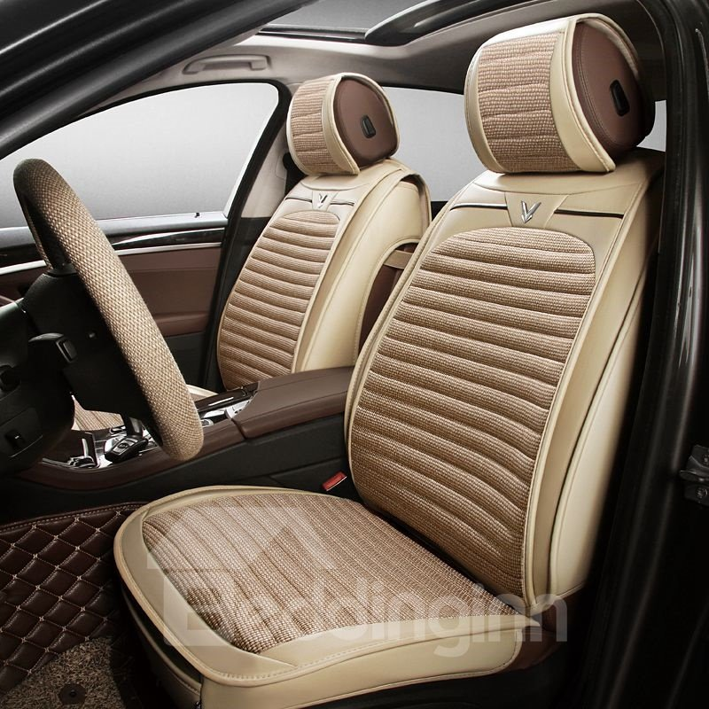 Permeability Solid Flax And Natural Fibers Cost-Effective Car Seat Covers