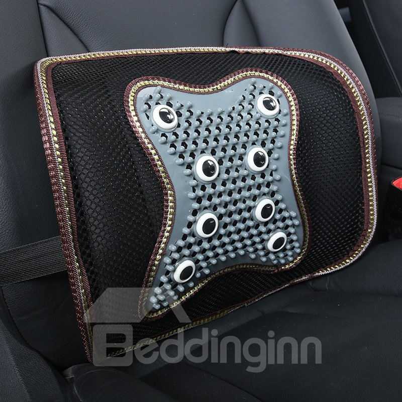 Elasticity Rubbing Solid health Cost-Effective Ice Silk And Rayon Car Pillow