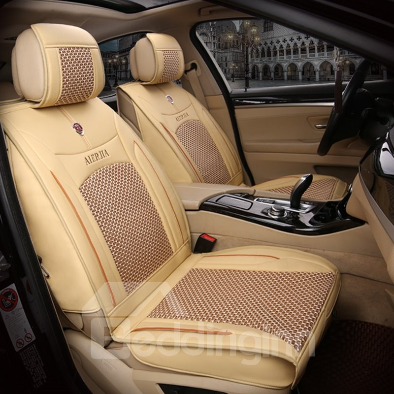 Three-dimensional Rubbing Simple Solid Car Seat Covers