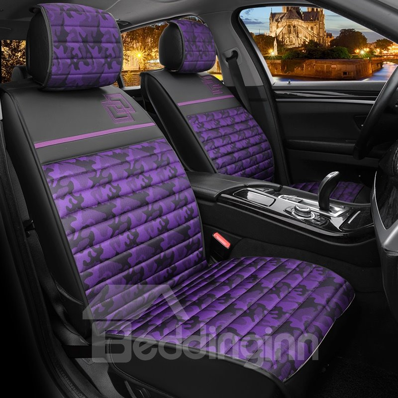 Beautiful Color Camouflage Soft Printing Durable Car Seat Covers