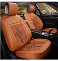 Permeability Flax And Natural Fibers Pattern Car Seat Covers