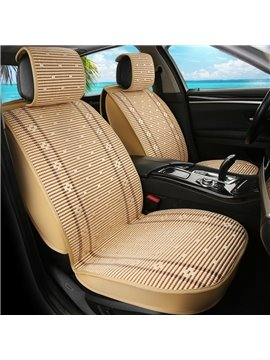 Cozy Ice Silk Asian Patterns Universal Car Seat Covers