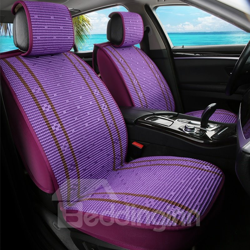 Cozy Ice Silk Asian Patterns Universal Car Seat Covers - beddinginn.com
