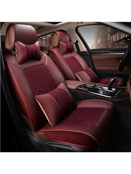 Flax And Natural Fibers Durable Luxurious Car Seat Covers