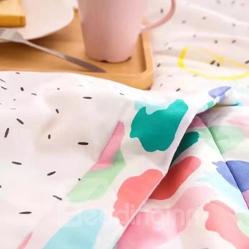 Stylish Pineapple Print Lightweight Air Conditioner Quilt