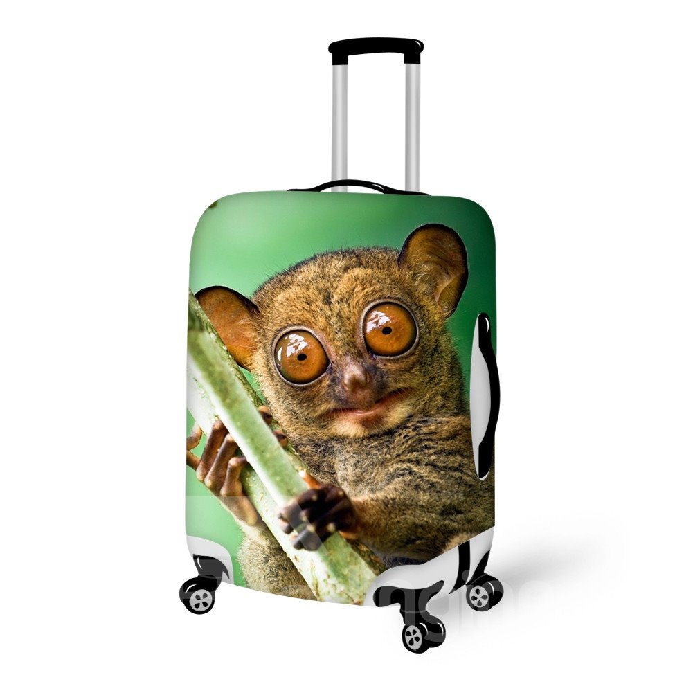 Cute Tarsier Pattern 3D painted Luggage Cover