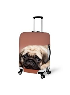 Modern Fashion Dog Pattern 3D Painted Luggage Cover