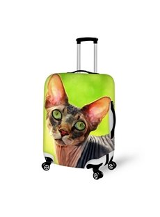 Stunning Sphynx Pattern 3D Painted Luggage Cover