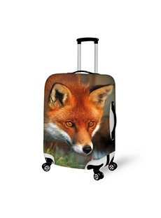 Luxury Fox Pattern 3D Painted Luggage Cover