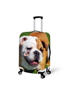 Vivid Dog Pattern 3D Painted Luggage Cover