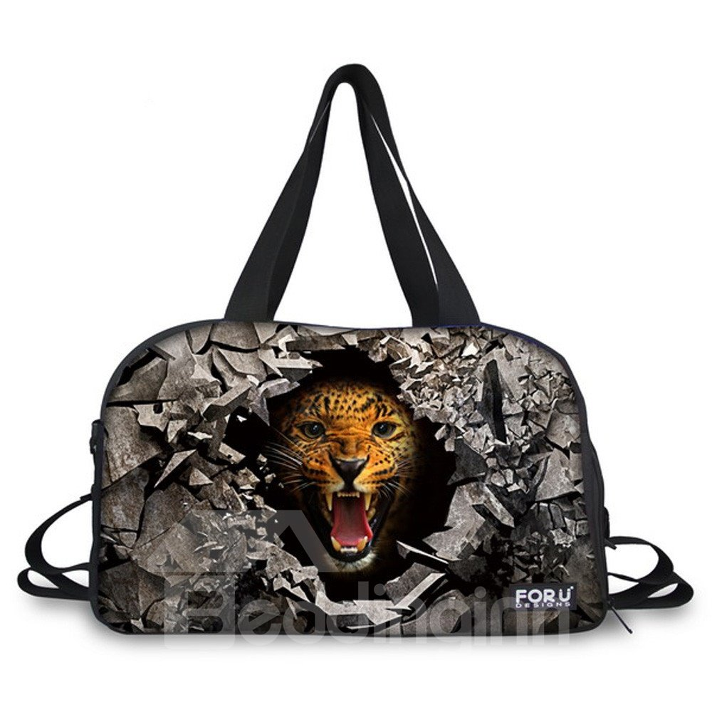 Animal Pattern Nylon Large Capacity Outdoor 3D Travel Bags