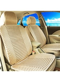 Linen Permeability No Electrostatic Cozy Textured Ice Silk And Rayon Economic Car Seat Cover