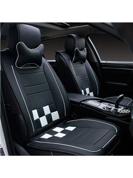Luxurious Skillful Manufacture Beautiful Color Genuine Leather Economic Car Seat Cover