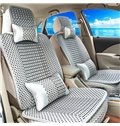 Permeability No Electrostatic Cozy Textured Ice Silk And Rayon Car Seat Cover
