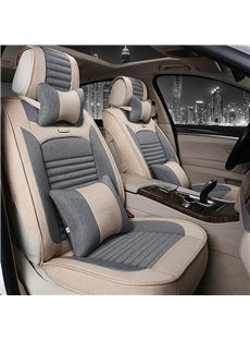 Business Environmental Protection Flax And Natural Fibers Economic Car Seat Cover
