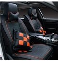 Luxurious Skillful Manufacture Beautiful Color Genuine Leather Car Seat Cover