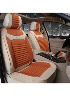 Business Environmental Protection Flax And Natural Fibers Car Seat Cover