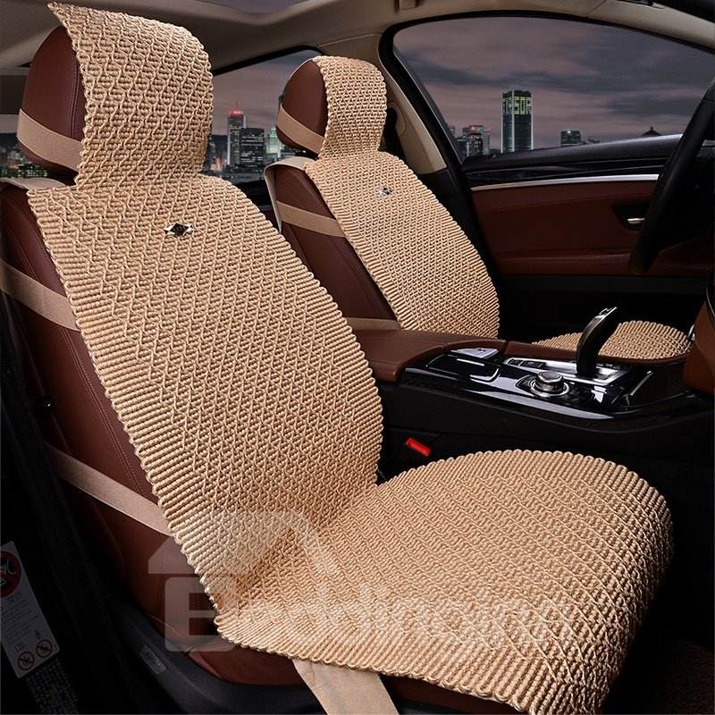 Finely Processed Permeability Substantial Flax And Natural Fibers Car Seat Cover