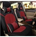 Princess wind Textured Durable In Use Genuine Leather Luxurious Car Seat Cover