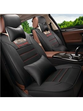 Beautiful Color Thick Durable Genuine Leather Luxurious Car Seat Cover