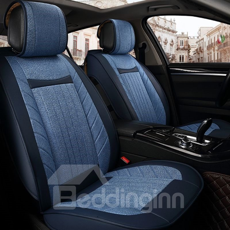 business skillful manufacture simple ice silk and rayon car seat cover. Black Bedroom Furniture Sets. Home Design Ideas