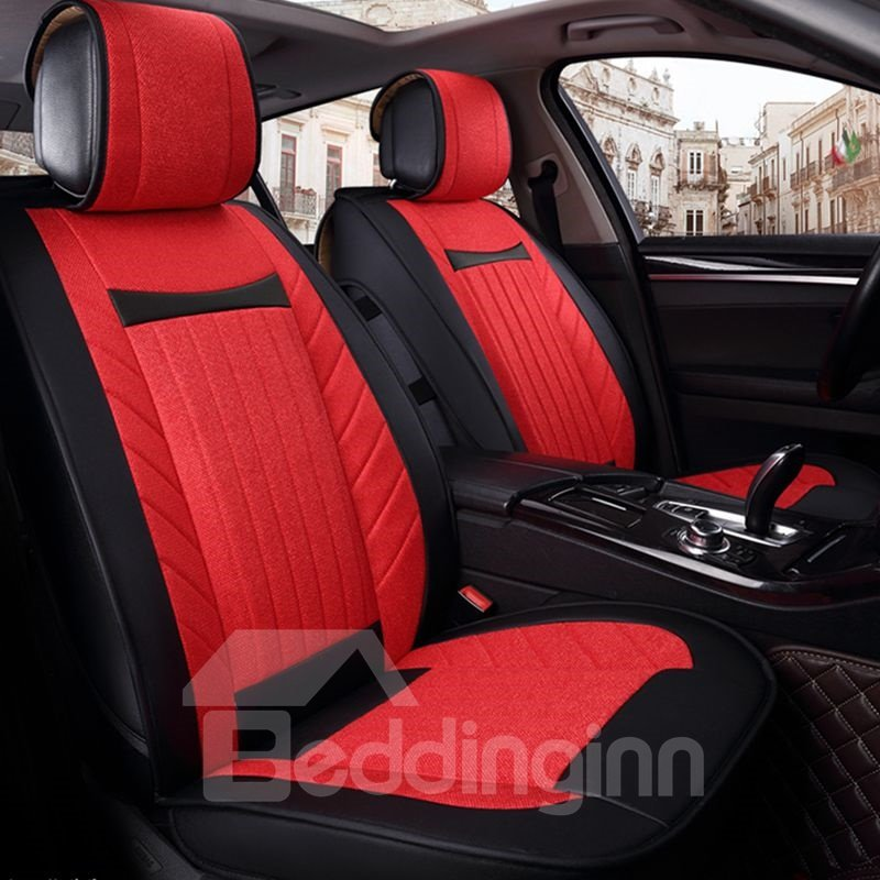 Business Skillful Manufacture Simple Ice Silk And Rayon Car Seat Cover