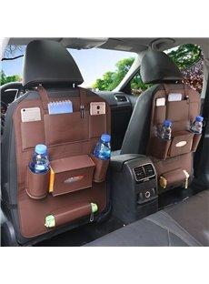 Economic Simple Matching Interior Leather Car Organizer