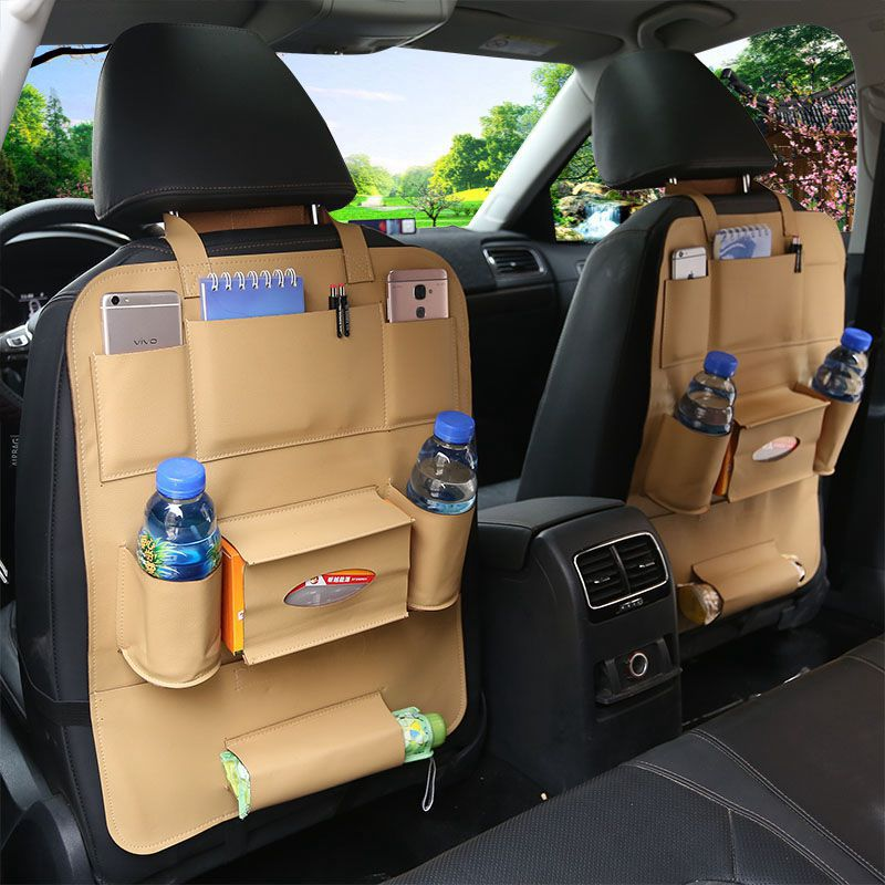 Economic Simple Matching Interior Leather Car Organizer