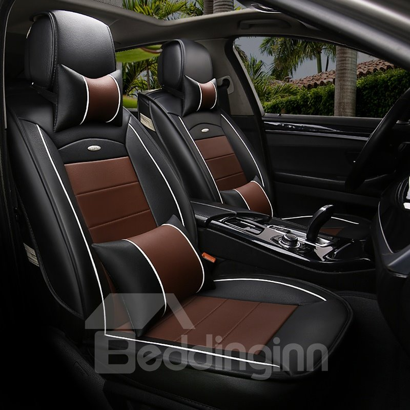 Soft Luxurious Fast Heat Dissipation Genuine Leather Car Seat Cover