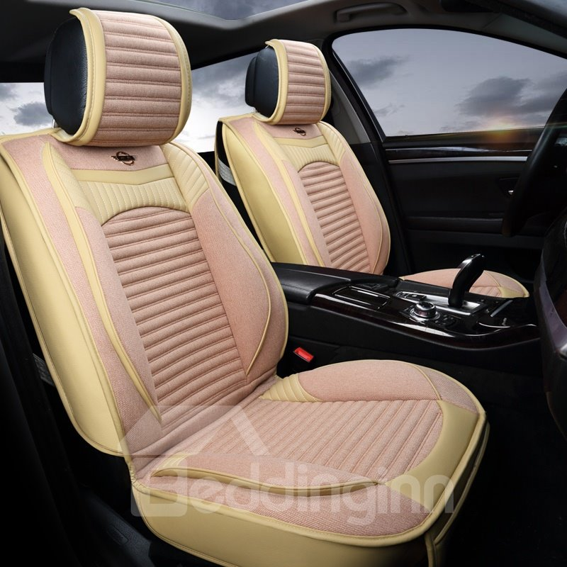 Modern Design Simple No Electrostatic Flax And Natural Fibers Car Seat Cover