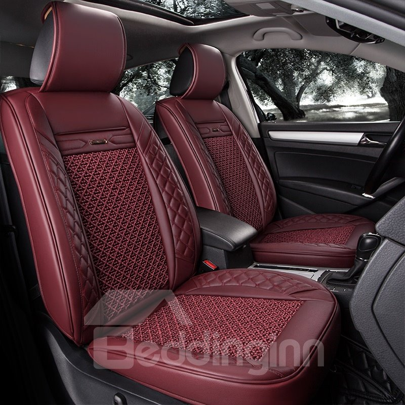 Durable Business Cost-Effective Ice Silk And Rayon Car Seat Cover