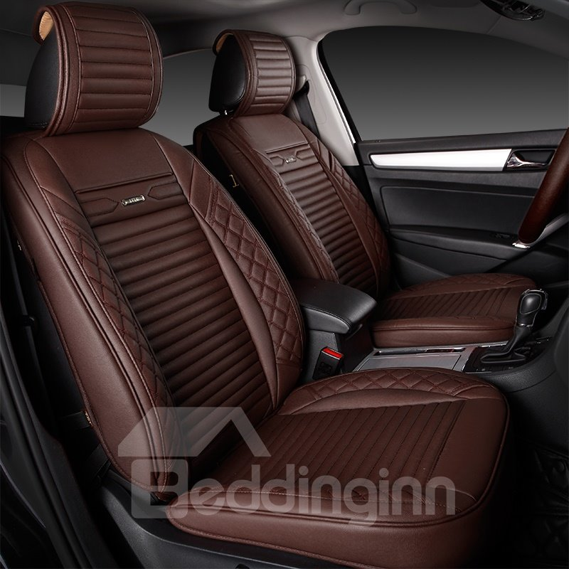 Modern Design Simple Matching Interior Genuine Leather Car Seat Cover