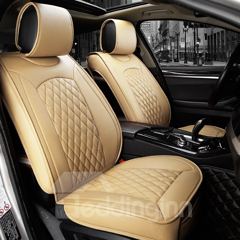Modern Design Simple Easy To Clean Genuine Leather Car Seat Cover