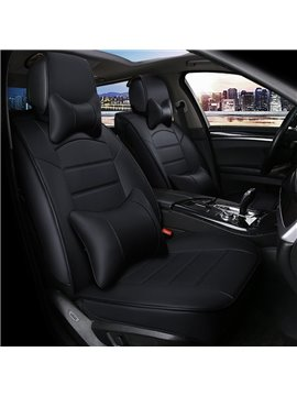 Beautiful Color Luxurious Fast Heat Dissipation Genuine Leather Car Seat Cover