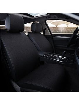 Beautiful Color Business No Electrostatic Flax And Natural Fibers Car Seat Cover