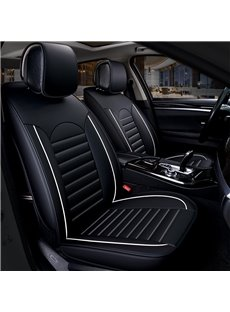 Durable In Use Simple Antistatic Genuine Leather Car Seat Cover