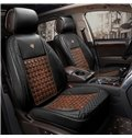 Luxury Business Style Wooden Chips Comfortable Universal Car Seat Covers