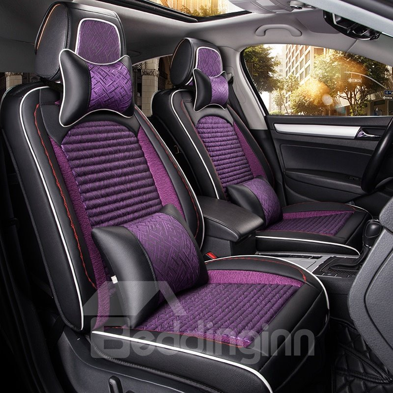 Modern Design Luxurious Fast Heat Dissipation Genuine Leather Car Seat Cover