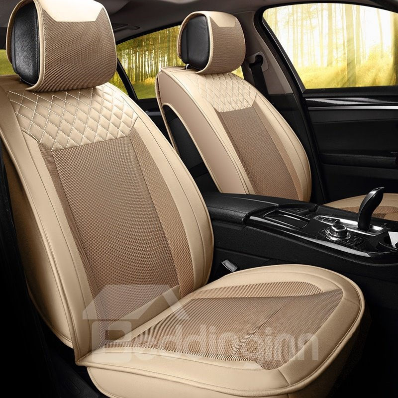 Cozy Business Cost-Effective Ice Silk And Rayon Car Seat Cover