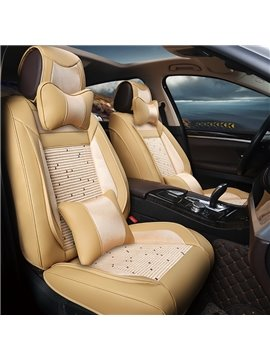 Luxury Business No Electrostatic Ice Silk And Rayon Car Seat Cover