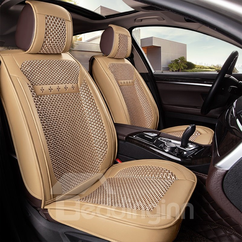 Durable Simple Cost-Effective Ice Silk And Rayon Car Seat Cover