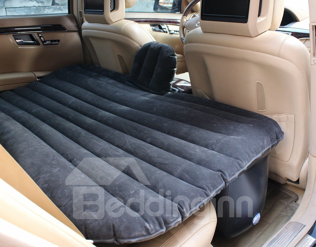 Beautiful Color Cool Luxurious Cost-Effective Coral Velvet Material Car Inflatable Bed