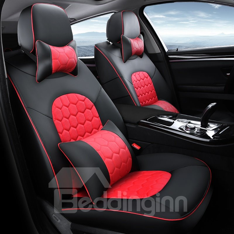 Pretty and Colorful Elegant For Highlander RAV4 Etc Seven Seats Car Customed-Fit Car Seat Cover