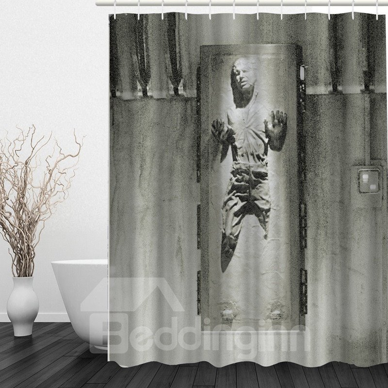 Individuality 3D Printed Bathroom Waterproof Shower Curtain