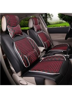 Pretty and Colorful Beautiful Design Polka Dot Ice Silk And Rayon Universal Car Seat Cover