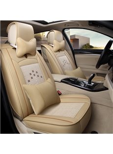 Delicate Colors Modern Pure Ice Silk And Rayon Universal Car Seat Cover